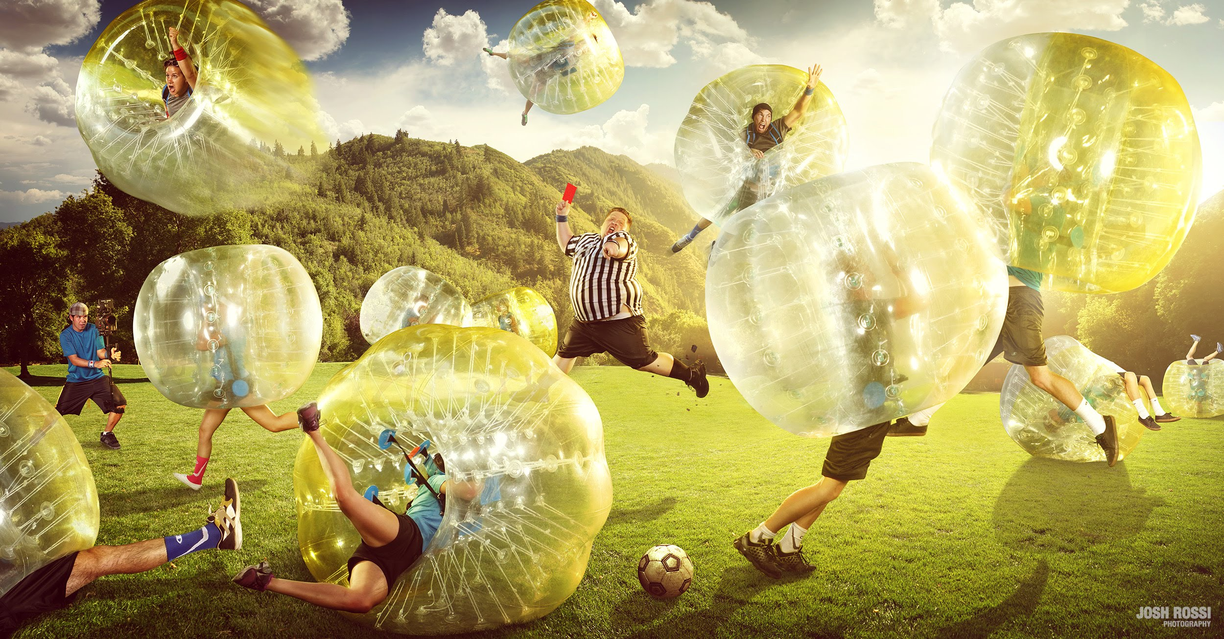 Amazing Bubble Soccer
