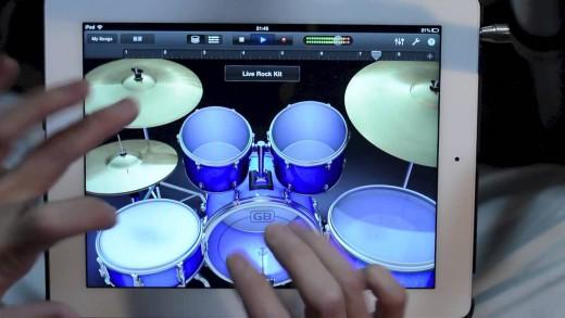 Amazing iPad Finger Drum Solo