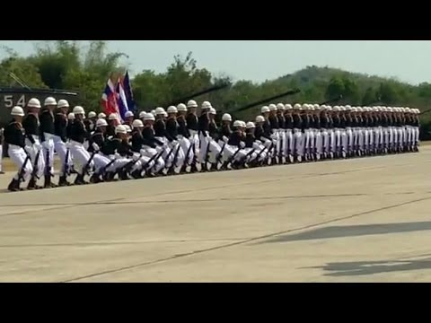 Amazing Thailand's Military Parade