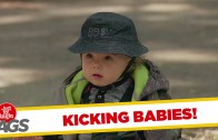 Don't Kick the Baby Prank!