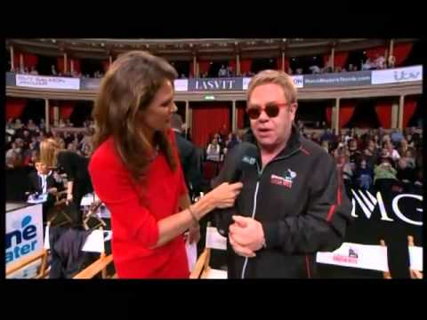Elton John Fell out of a Chair