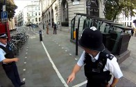 London Cyclist Stopped by Police!