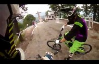 The Craziest Downhill Bike Course Ever