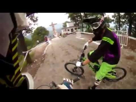 The Craziest Downhill Bike Course Ever