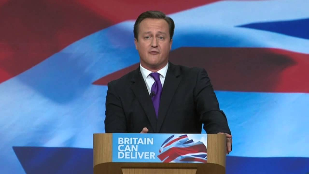 Watch a Brilliant Mash-Up of David Cameron's Speeches