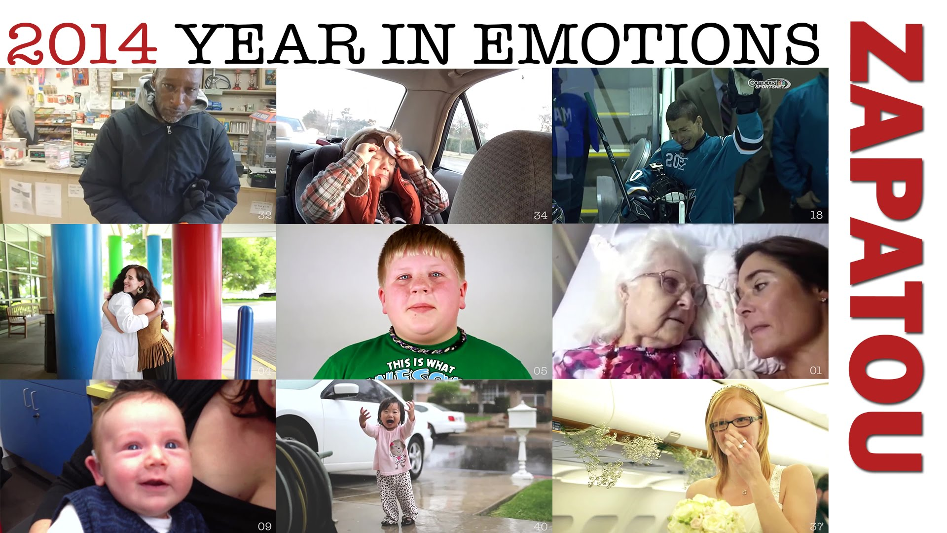 Year in Emotions – Another Fantastic Compilation by Luc Bergeron