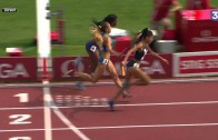 Amazing Finish by France During 4x400m Relay Race!