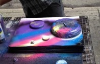 Amazing Spray Paint Art in New York City