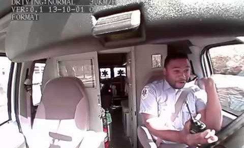 Ambulance Driver Loves Voguing To Rihanna