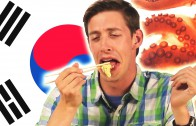 Americans Taste Exotic Asian Food