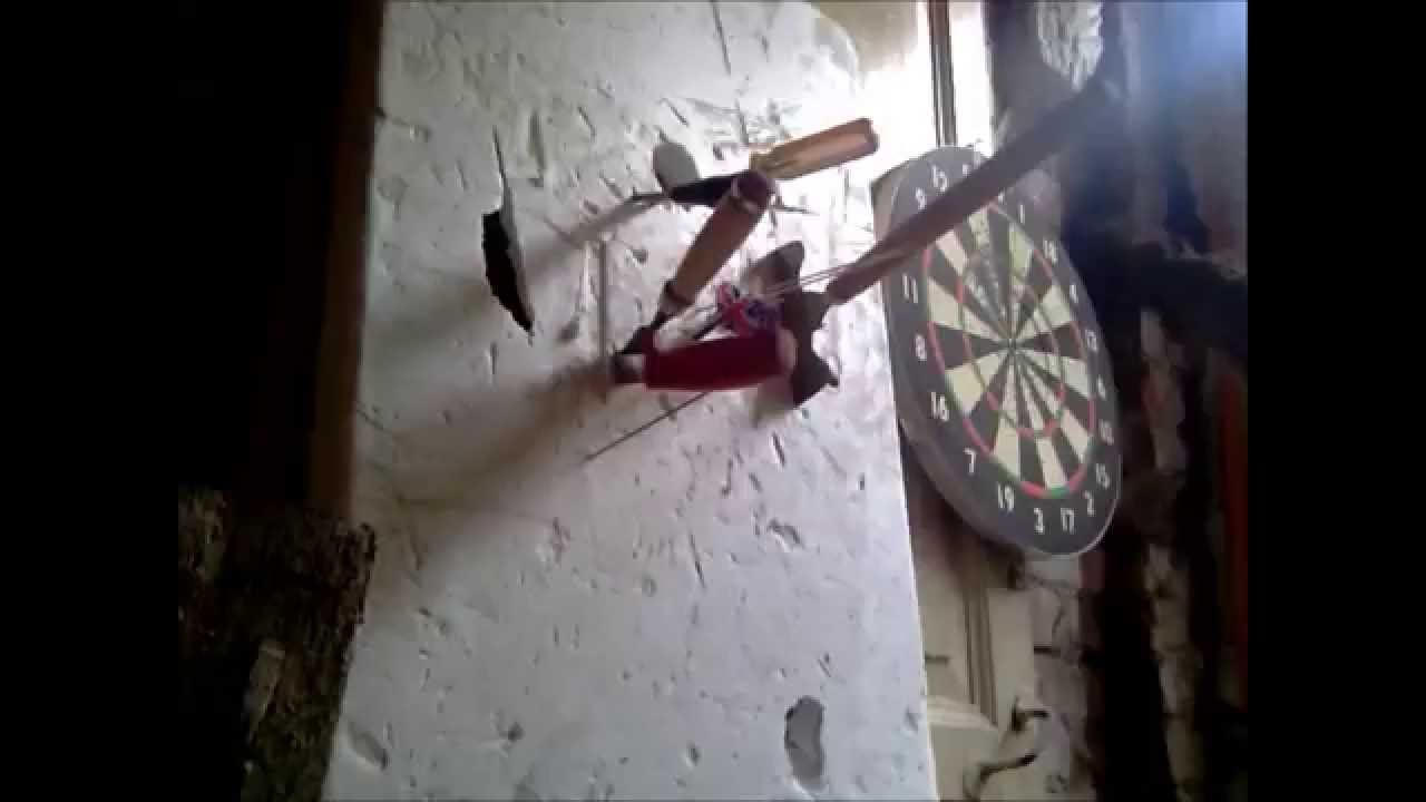 How Russians Play Darts