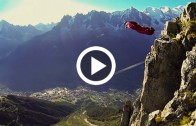 Unbelievable Wingsuit Cave Flight! Batman Cave