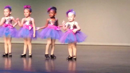 Little Girl's Hilarious Tap Dance Choreography