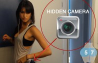 The Girl in Her Yoga Pants Wears a Hidden Camera, Watch What Happens