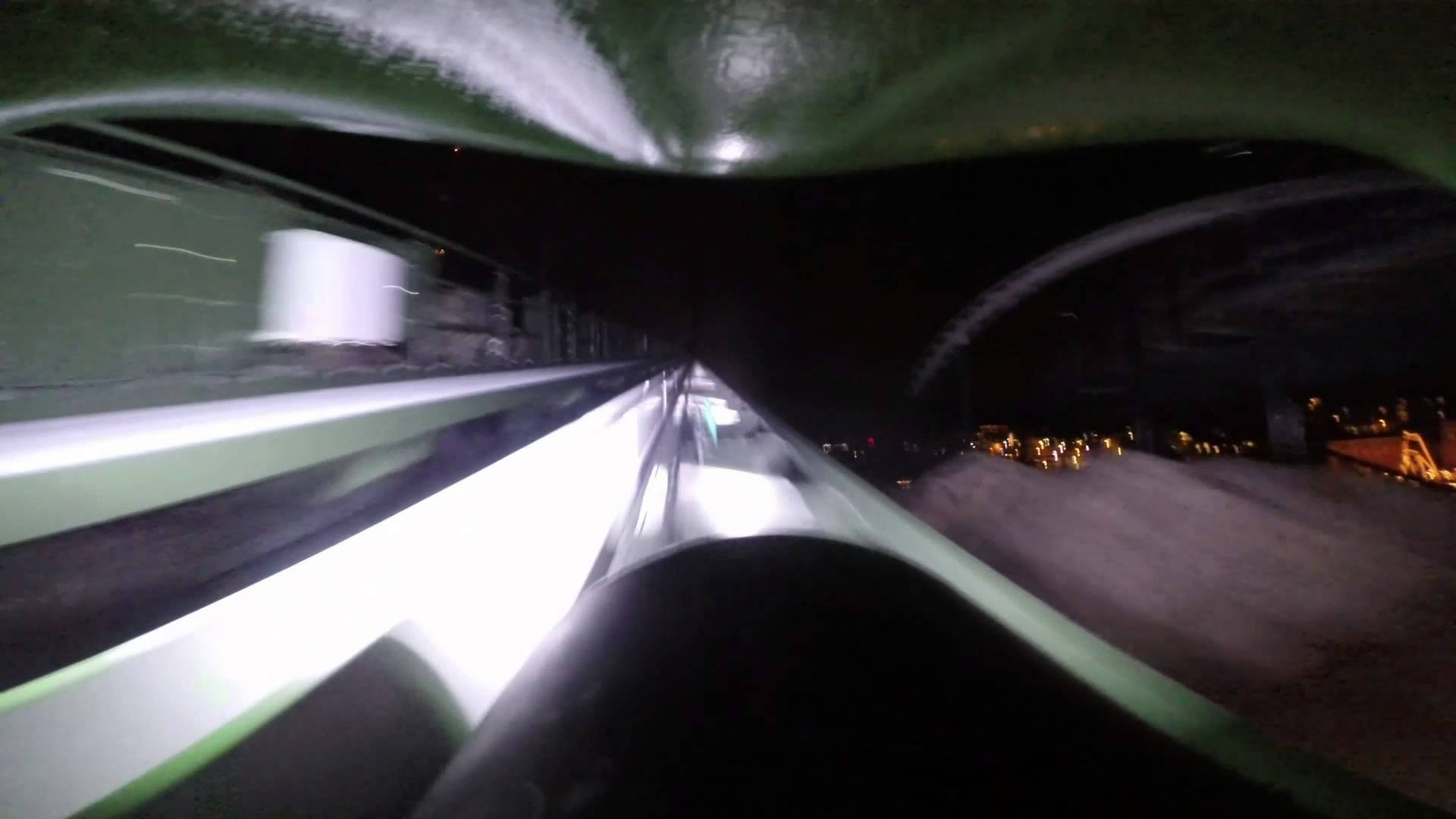 This is How a Ride in Helix Looks as Night