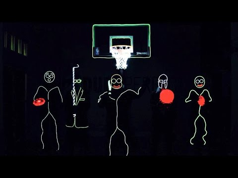 Trick Shots: Glow In The Dark Edition!