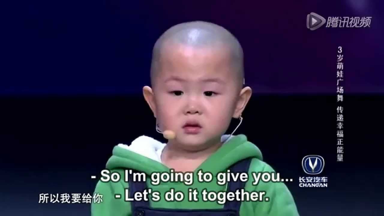 Adorable 3 Year Old Boy Shows Us His Talent