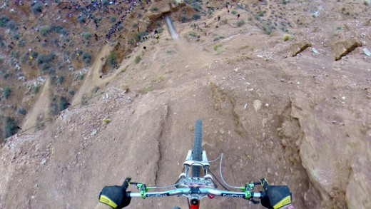 Amazing Backflip Over 72ft Canyon