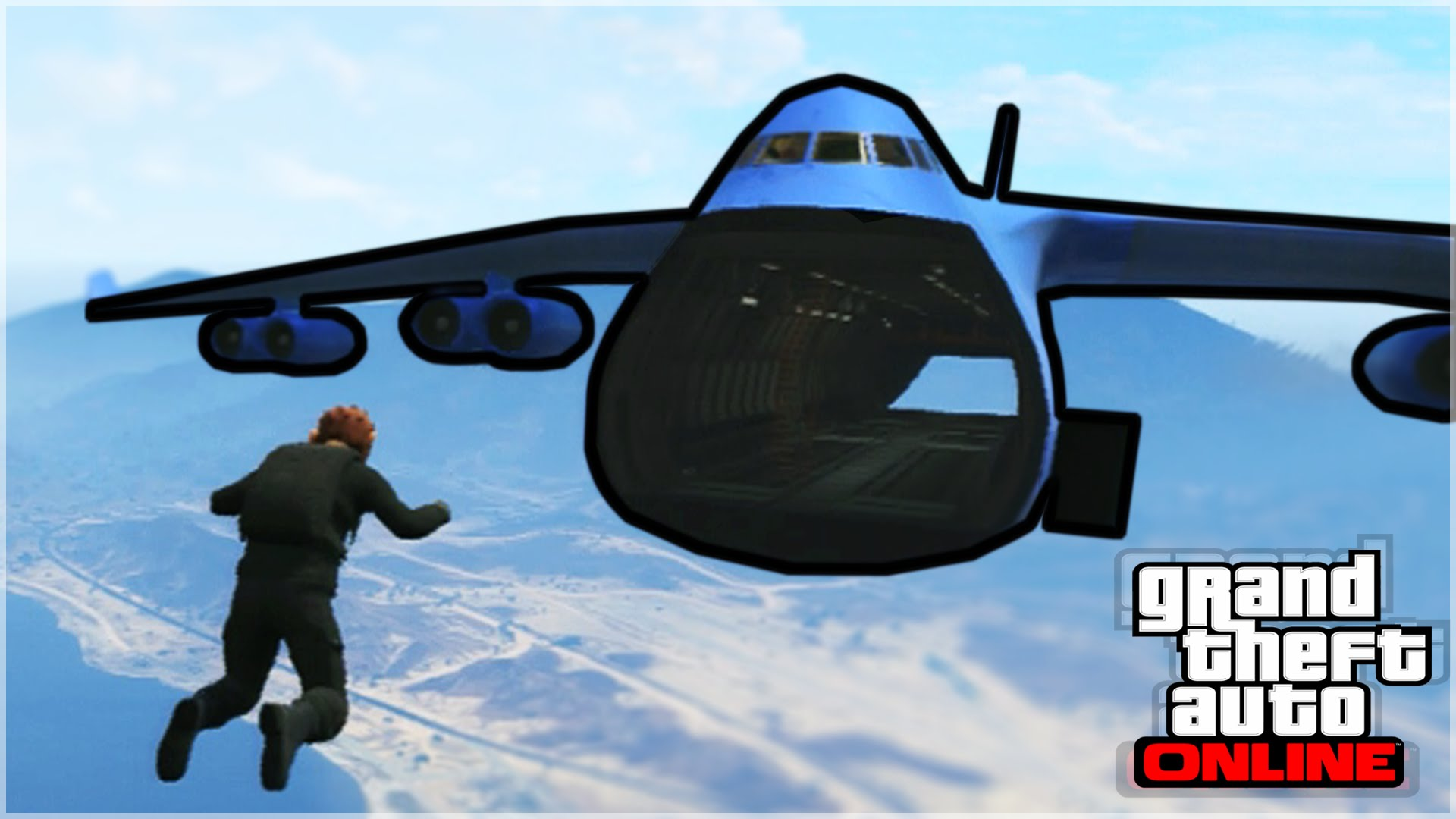 Extreme Skydiving GTA 5 Stunts on GTA 5