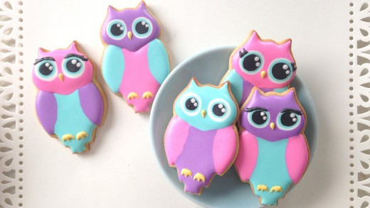 How To Decorate Owl Cookies!