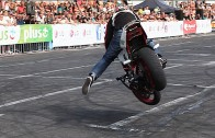 The Best Motorcycle Riding at the Stunt Grand Prix