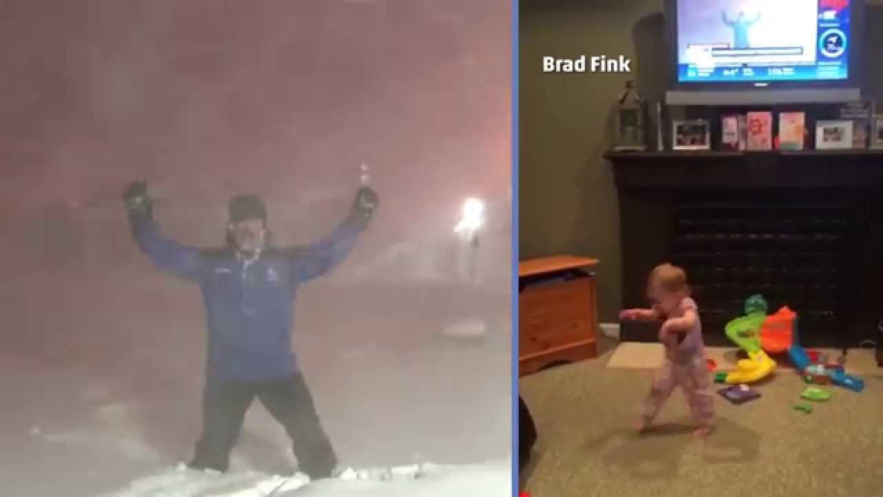 Toddler's Adorable Reaction to Jim's Excitement About Thundersnow