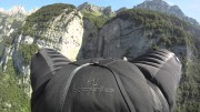 Grinding the Crack: Wingsuit flying